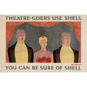 John Armstrong (1893-1973) Theatre-Goers Use Shell