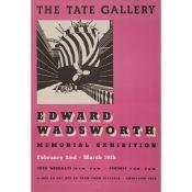 AFTER EDWARD WADSWORTH (1889-1949) EDWARD WADSWORTH, THE TATE GALLERY