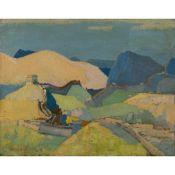 TENG-HIOK CHIU (CHOU TING-HSU) (CHINESE 1903-1972) THE GREAT WALL OF CHINA, 1931