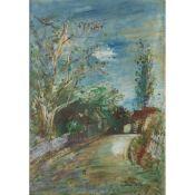 § JEAN DUFY (FRENCH 1888-1964) ROUTE DE RIVES (TOURAINE)