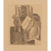 § PABLO PICASSO (SPANISH 1881-1973) MAN IN HAT, 1914