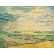 THOMAS A MCCORMACK (NEW ZEALAND 1883-1973) LANDSCAPE, 1911