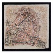 ROMAN MOSAIC OF A HORSE EUROPE OR NEAR EAST, 3RD - 4TH CENTURY A.D.