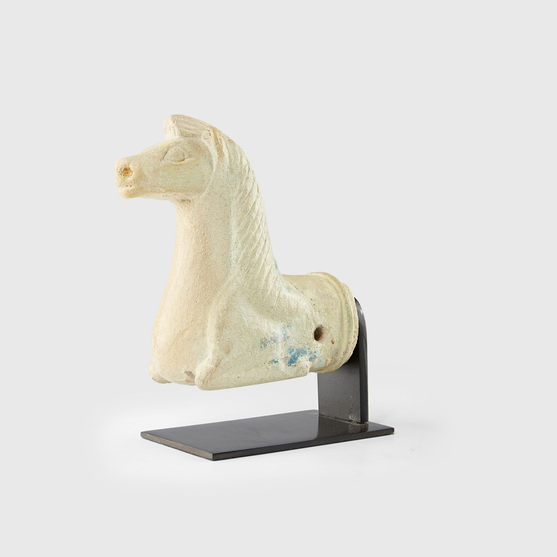 ZIWIYE HORSE PROTOME NEAR EAST, 9TH - 8TH CENTURY B.C.