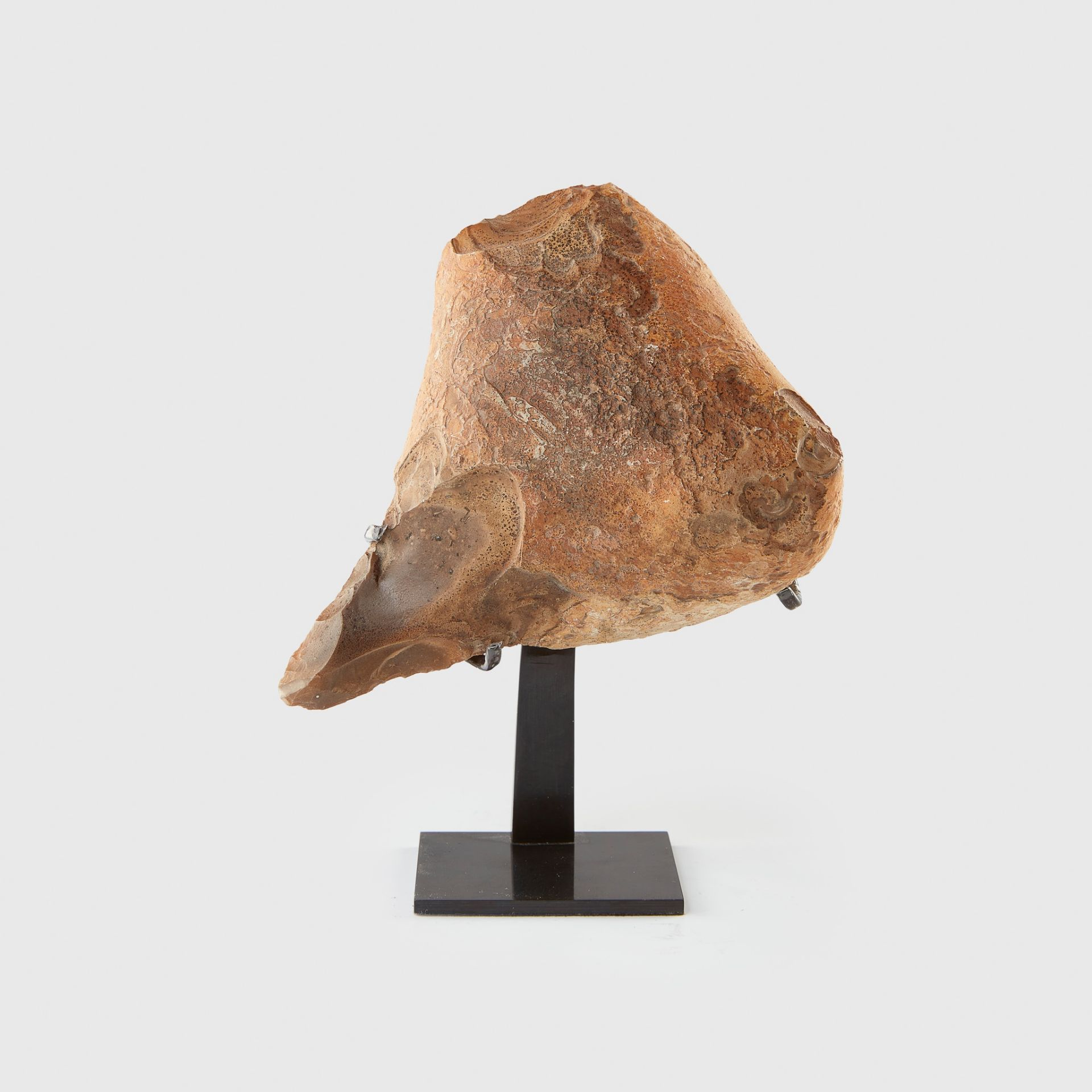 PUBLISHED 1914 PREDYNASTIC EGYPTIAN FLINT HAND AXE EGYPT, LATE MESOLITHIC, c. 7,000 - 6,000 B.C.
