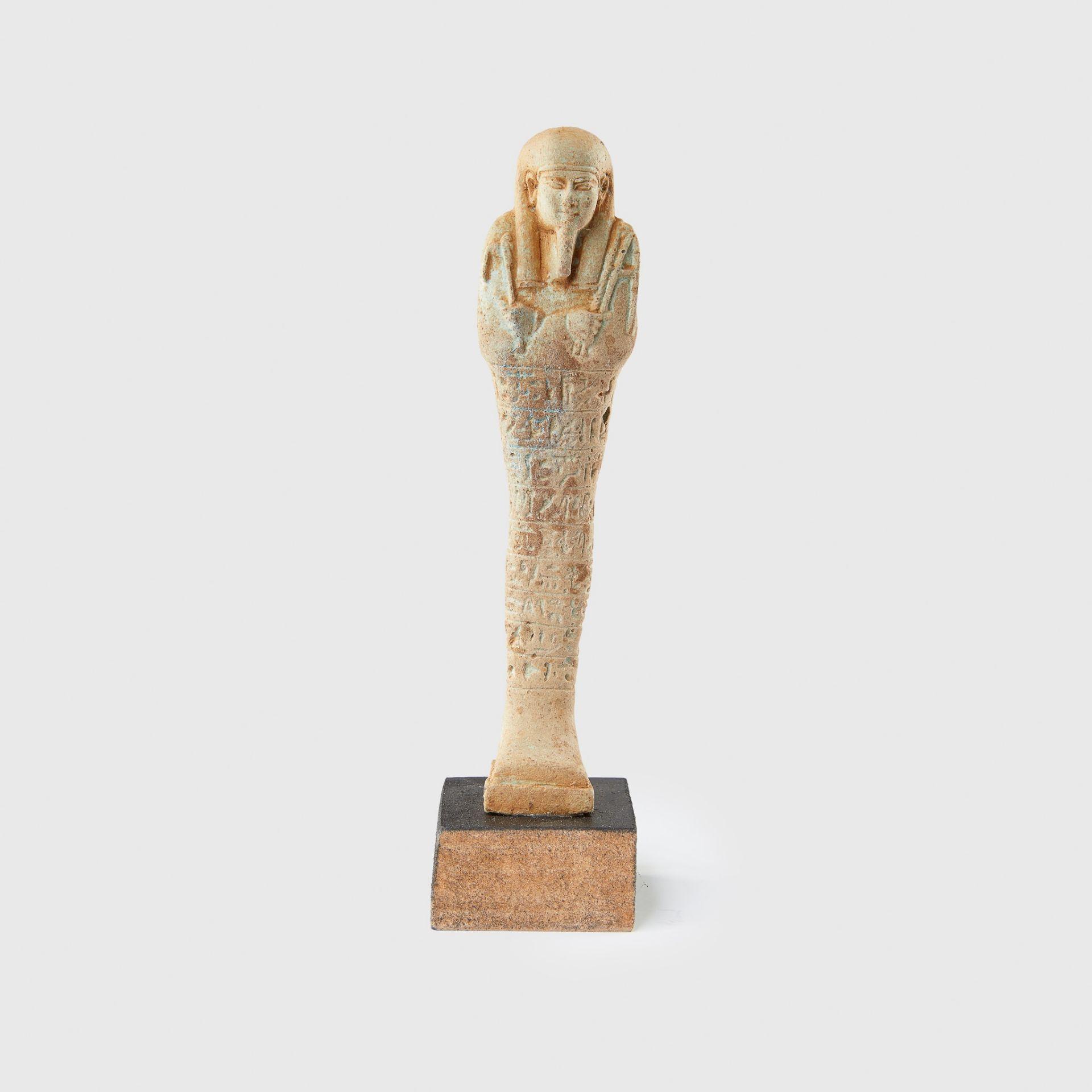 SHABTI EGYPT, LATE PERIOD c. 664 - 332 B.C.