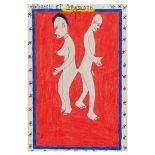 FREDERIC BRULY BOUABRE (IVORIAN B.1923-D.2014), ZACELI ET ZAWOUNON IVORY COAST
