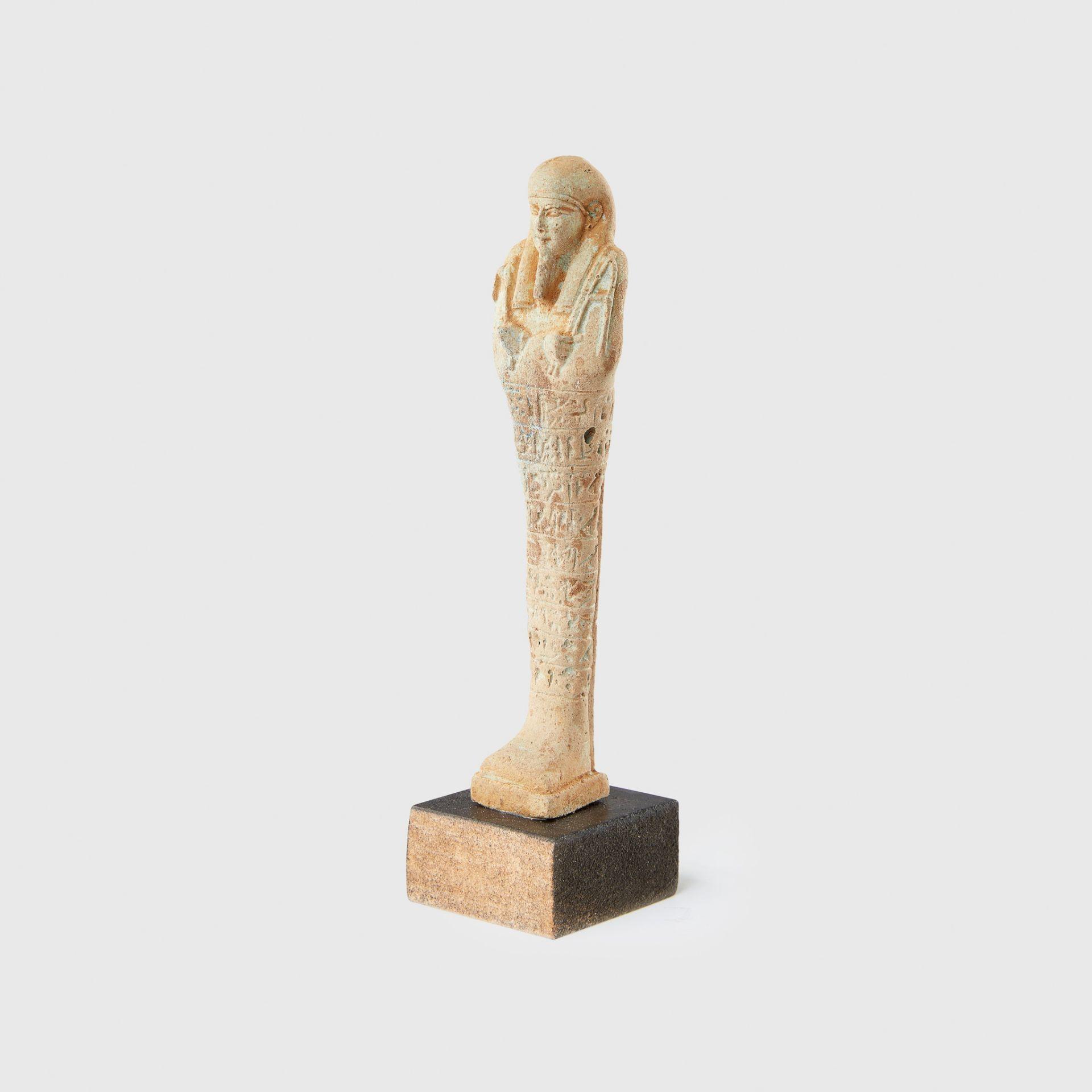SHABTI EGYPT, LATE PERIOD c. 664 - 332 B.C. - Image 2 of 2