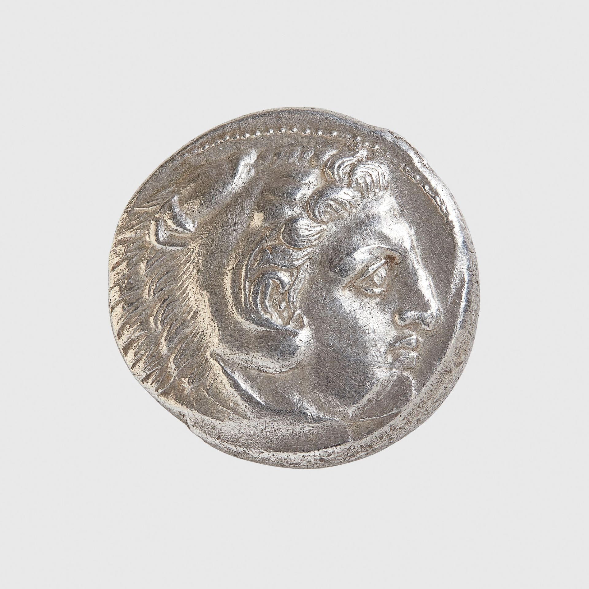 ALEXANDER THE GREAT SILVER TETRADRACHM GREECE, AMPHIPOLIS MINT, 325 - 323 B.C.