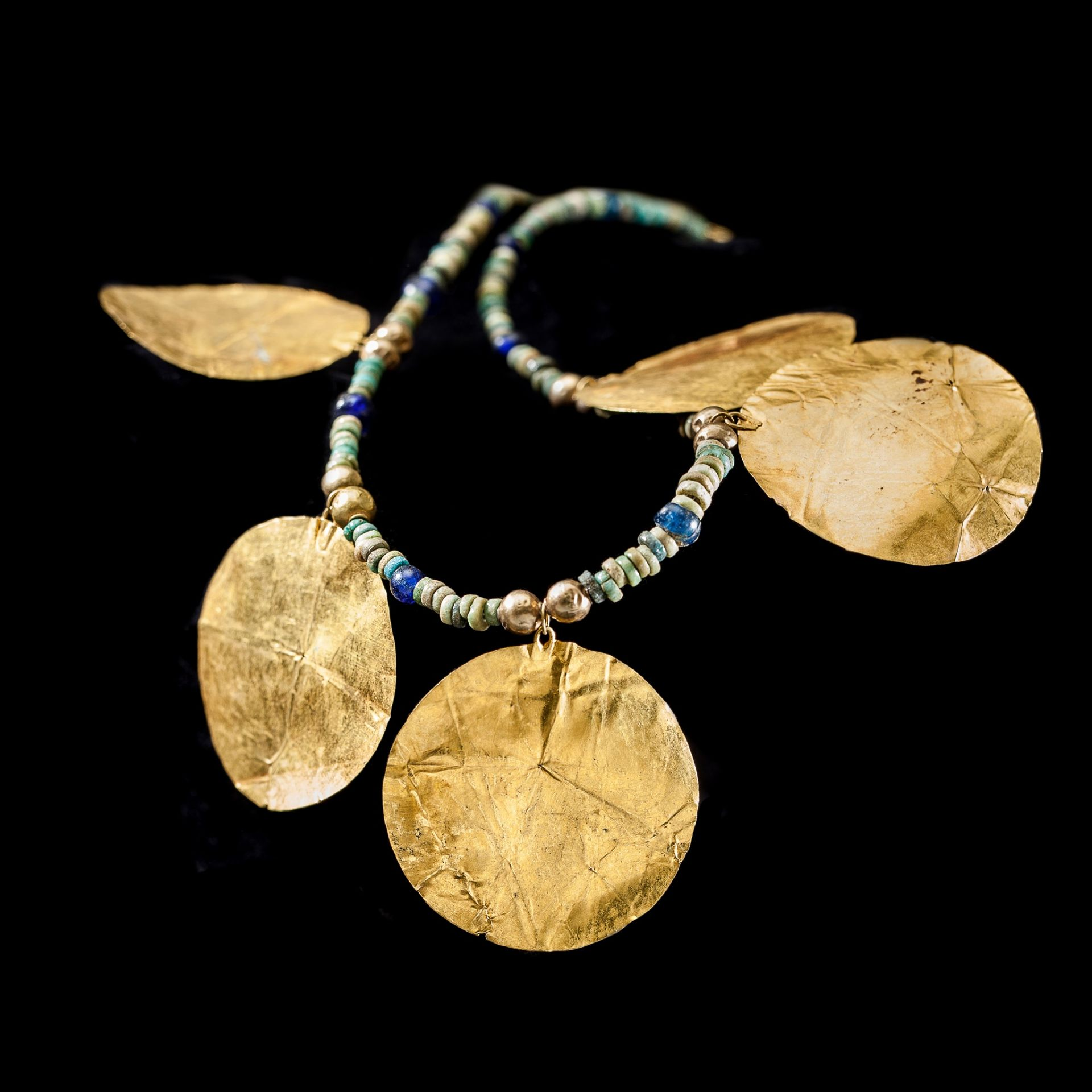 WESTERN ASIATIC NECKLACE NEAR EAST, 1ST MILLENNIUM B.C. - Image 2 of 2