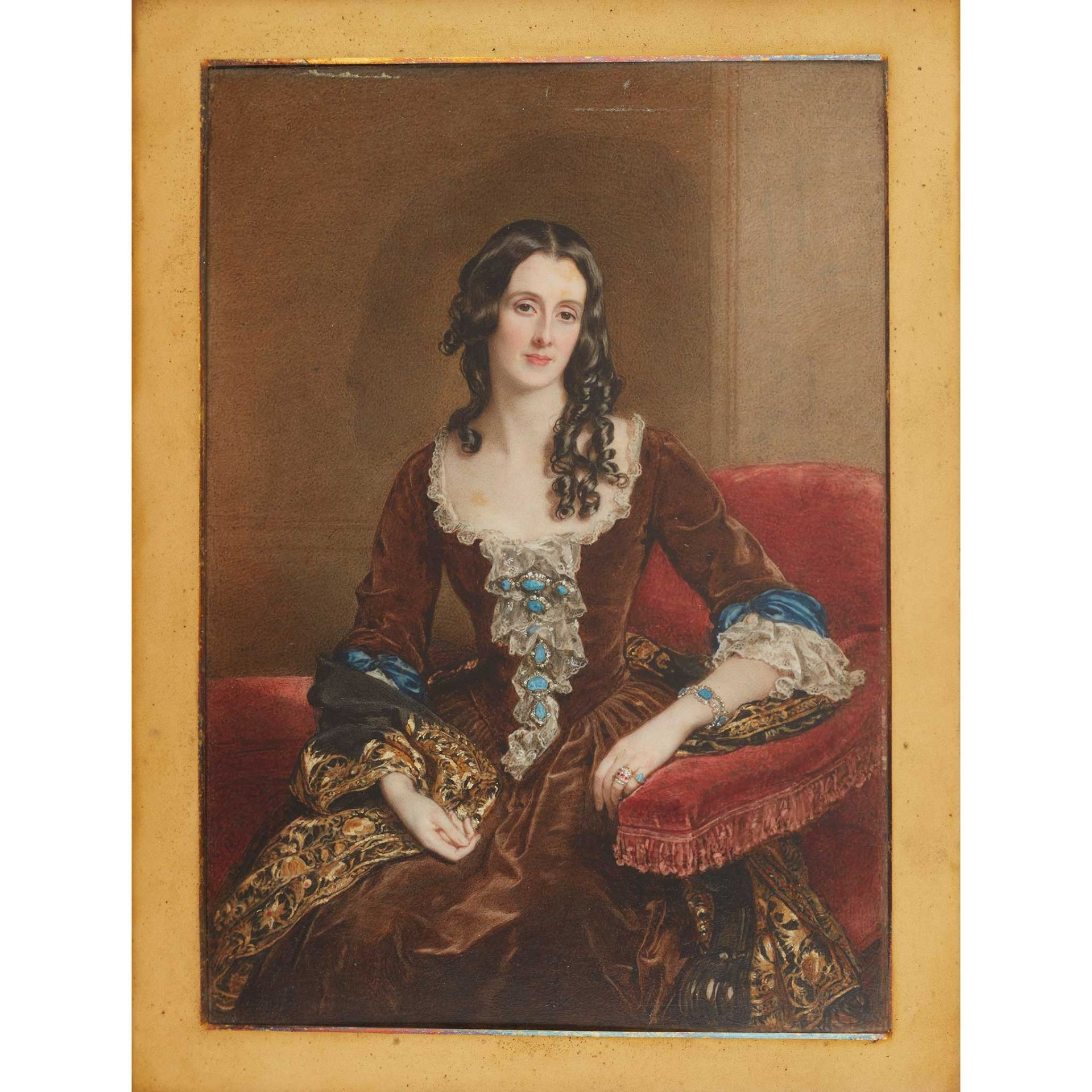 Y SIR WILLIAM CHARLES ROSS, R.A., (1794-1860) THE MARCHIONESS OF BREADALBANE, MARY GAVIN CAMPBELL