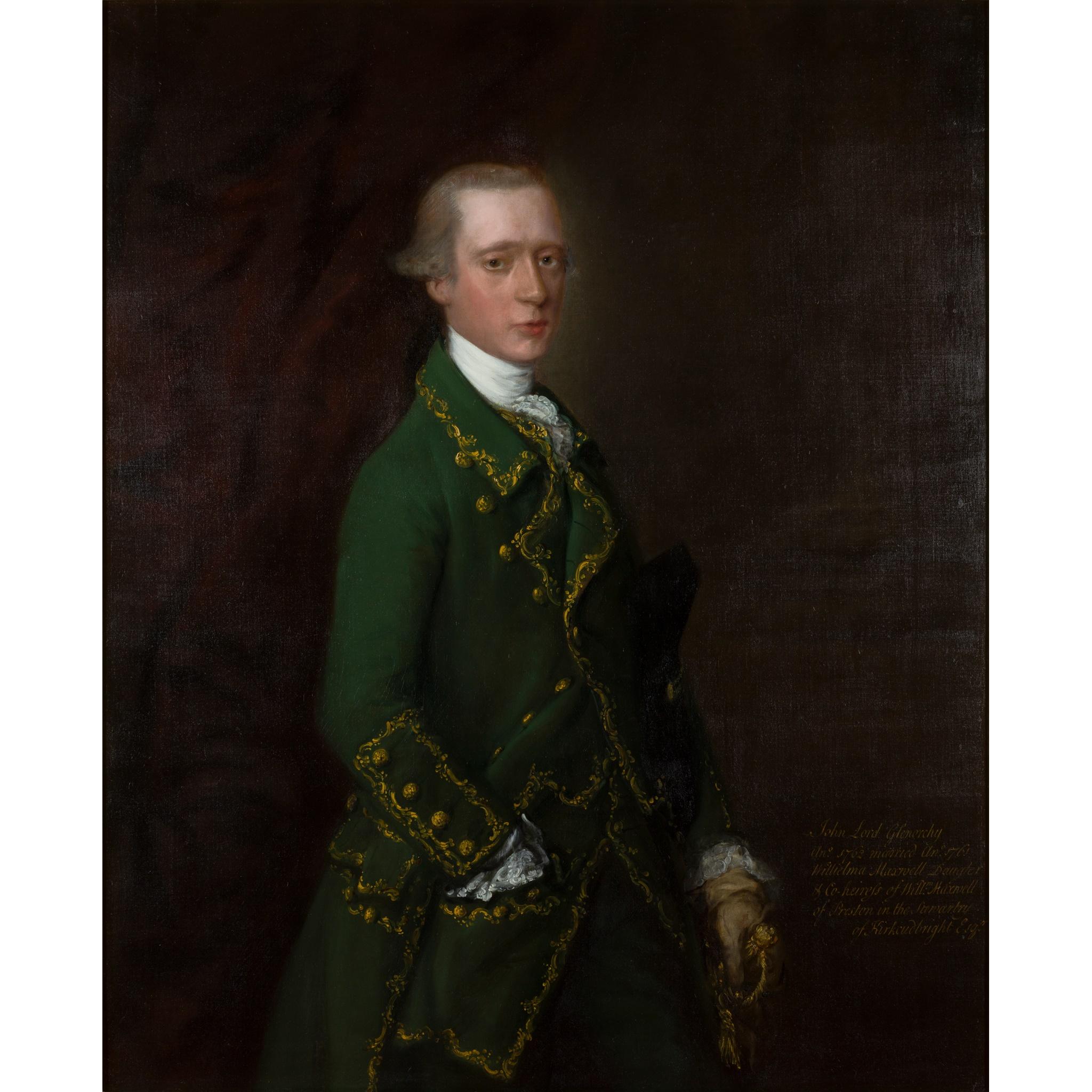 ◆ THOMAS GAINSBOROUGH R.A. (BRITISH 1717-1788) HALF-LENGTH PORTRAIT OF JOHN CAMPBELL, VISCOUNT
