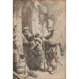 REMBRANDT VAN RIJN (DUTCH 1609-1669) THE RAT CATCHER (BARTSCH 121)