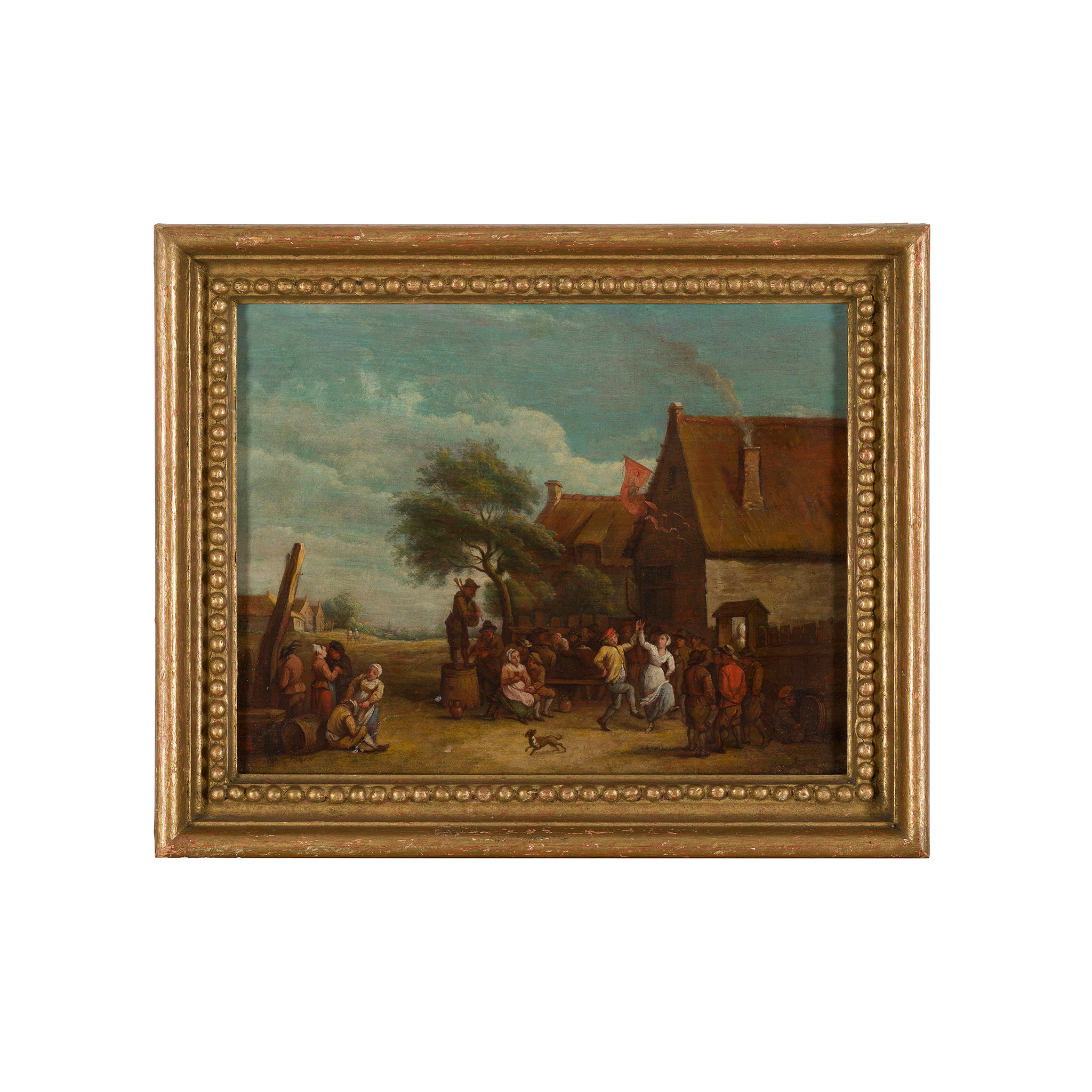MANNER OF DAVID TENIERS A VILLAGE DANCE - Image 2 of 3