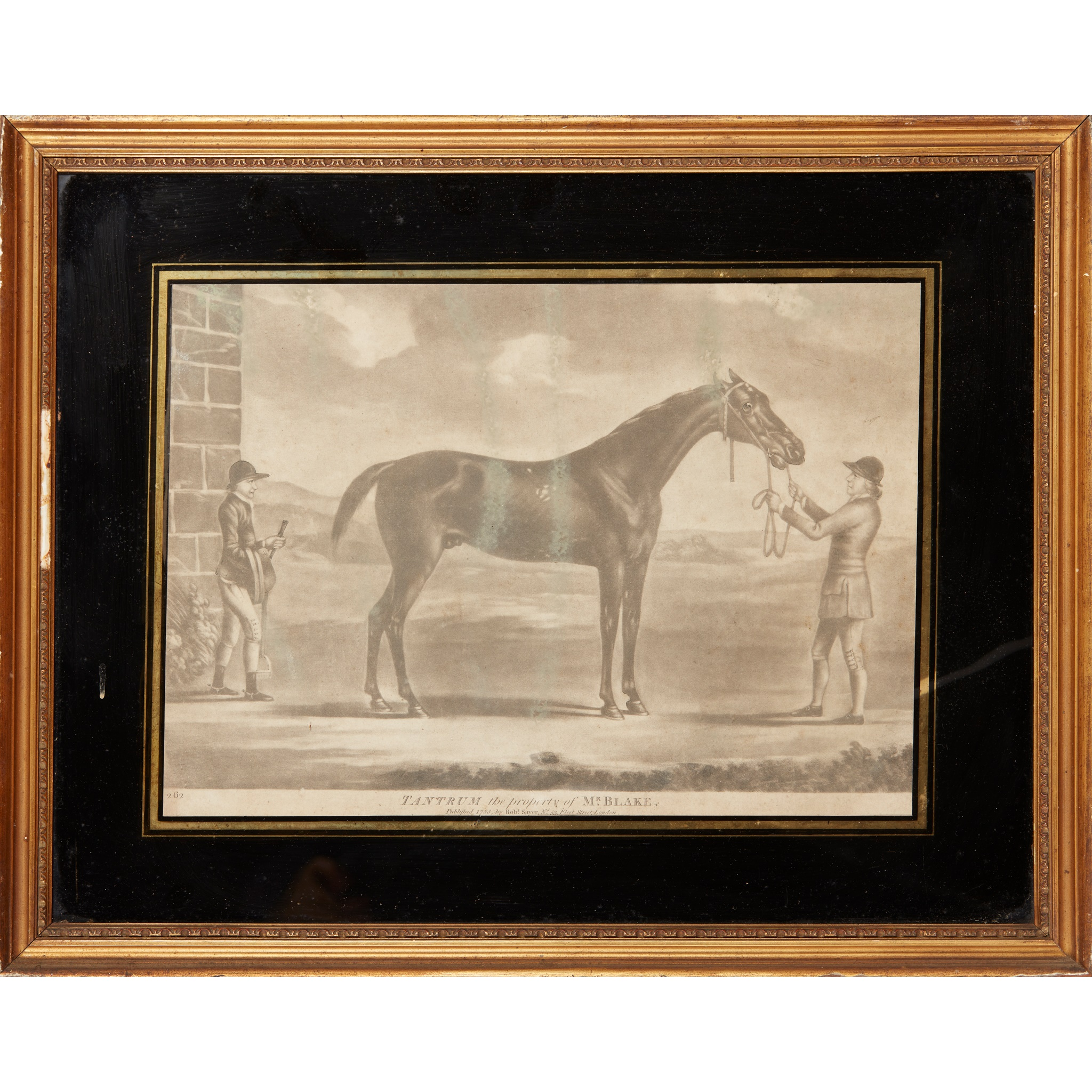 COLLECTION OF ELEVEN MEZZOTINT EQUESTRIAN PRINTS LATE 18TH CENTURY - Image 3 of 8