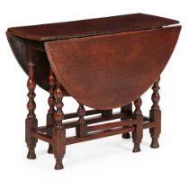 EARLY GEORGIAN OAK GATELEG TABLE EARLY 18TH CENTURY