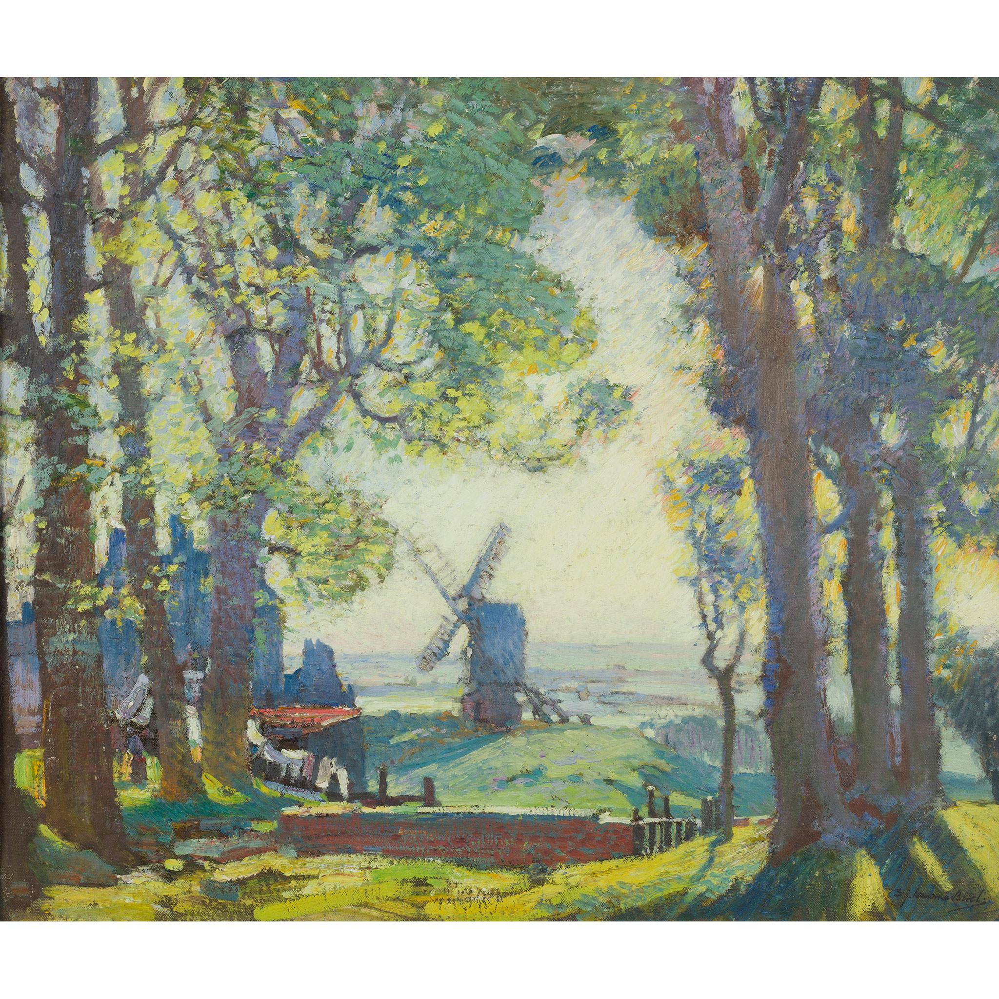 SAMUEL JOHN LAMORNA BIRCH R.A., R.W.S., R.W.A. (BRITISH 1869-1955) THE OLD MILL, POSSIL