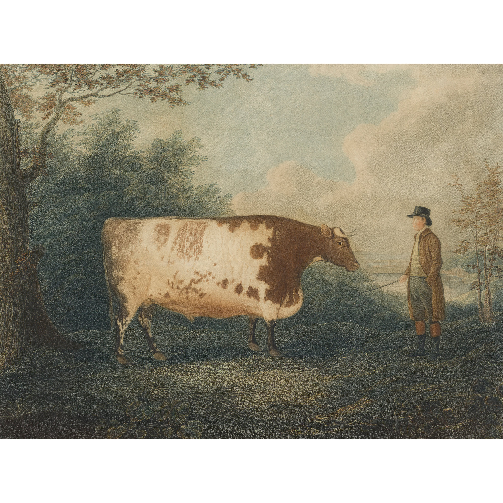 JOHN BOULTBEE AFTER THE DURHAM OX - Image 2 of 2