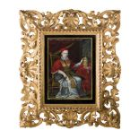 Y PORTRAIT MINIATURE OF POPE INNOCENT XII EARLY 19TH CENTURY