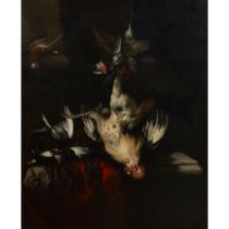 WILLIAM GOUW FERGUSON (SCOTTISH 1632/33- AFTER 1695) A STILL LIFE OF DEAD GAME AND SONGBIRDS
