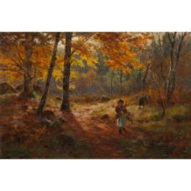 LOUIS BOSWORTH HURT (SCOTTISH 1856-1929) AUTUMN GLORY