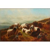 WILLIAM WATSON (SCOTTISH 1831-1921) ON THE MOUNTAINS, LOCH AWE