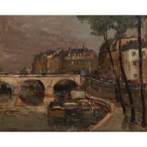 ALEXANDER JAMIESON R.O.I. (SCOTTISH 1873-1937) ST MICHEL, PARIS