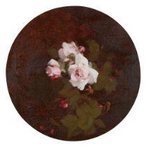 STUART PARK (SCOTTISH 1862-1933) A STILL LIFE OF PINK ROSES