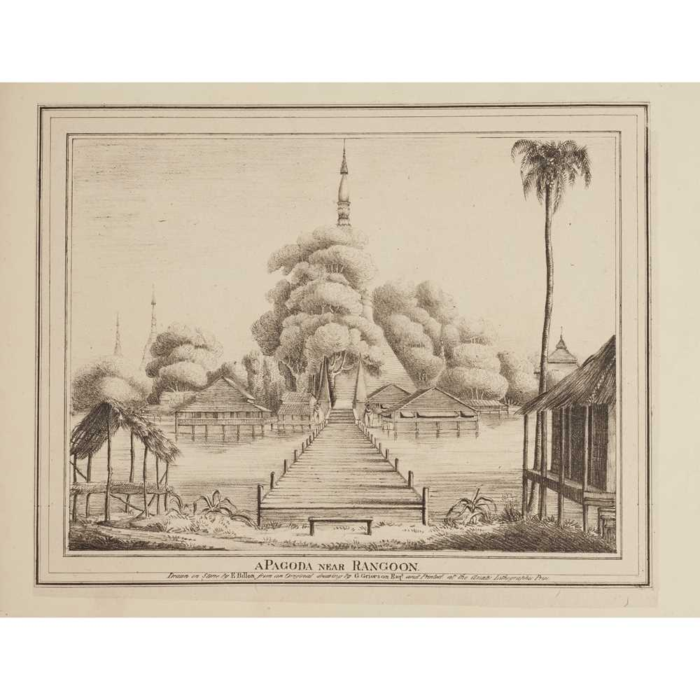 Grierson, J. Twelve Select Views of the Seat of War Calcutta: Asiatic Lithographic Press, 1825.
