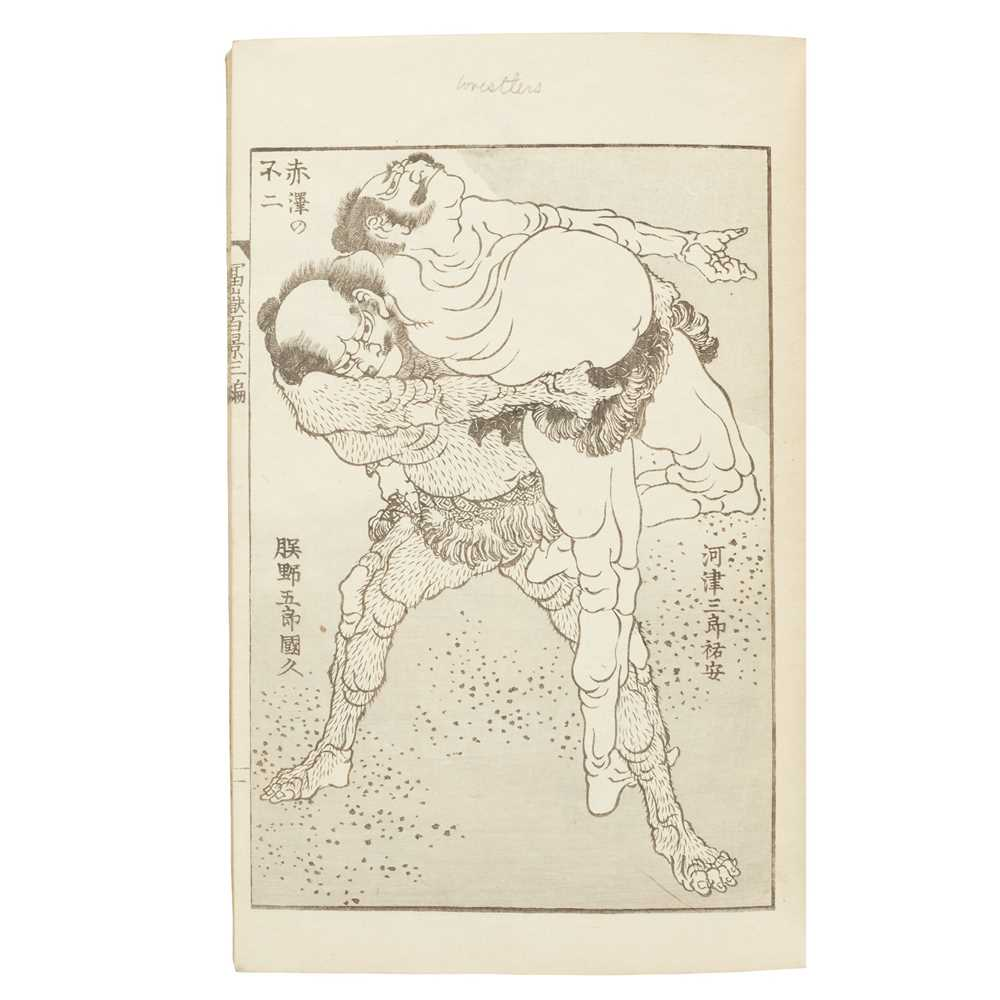 Illustrated Japanese Books predominantly Meiji Period 20 books, including one blank notebook, late - Image 5 of 5