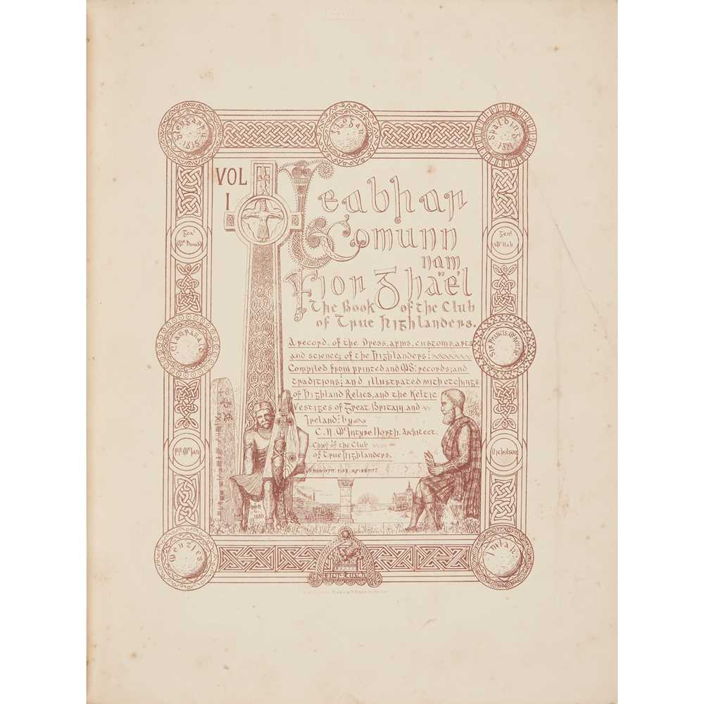North, C.N. MacIntyre Leabhar Comunn nam Fior Ghael – Book of the Club of the True Highlanders