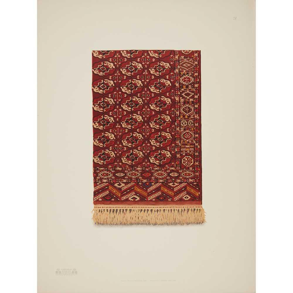 Bogolubov, A. Tapisseries de l'Asie Centrale faisant partie de la collection réunie par A. - Image 2 of 3