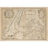 Greece & Denmark Two framed maps Homann, Johann Baptist Regni Daniae. [possibly Nuremberg, 1730?] 51