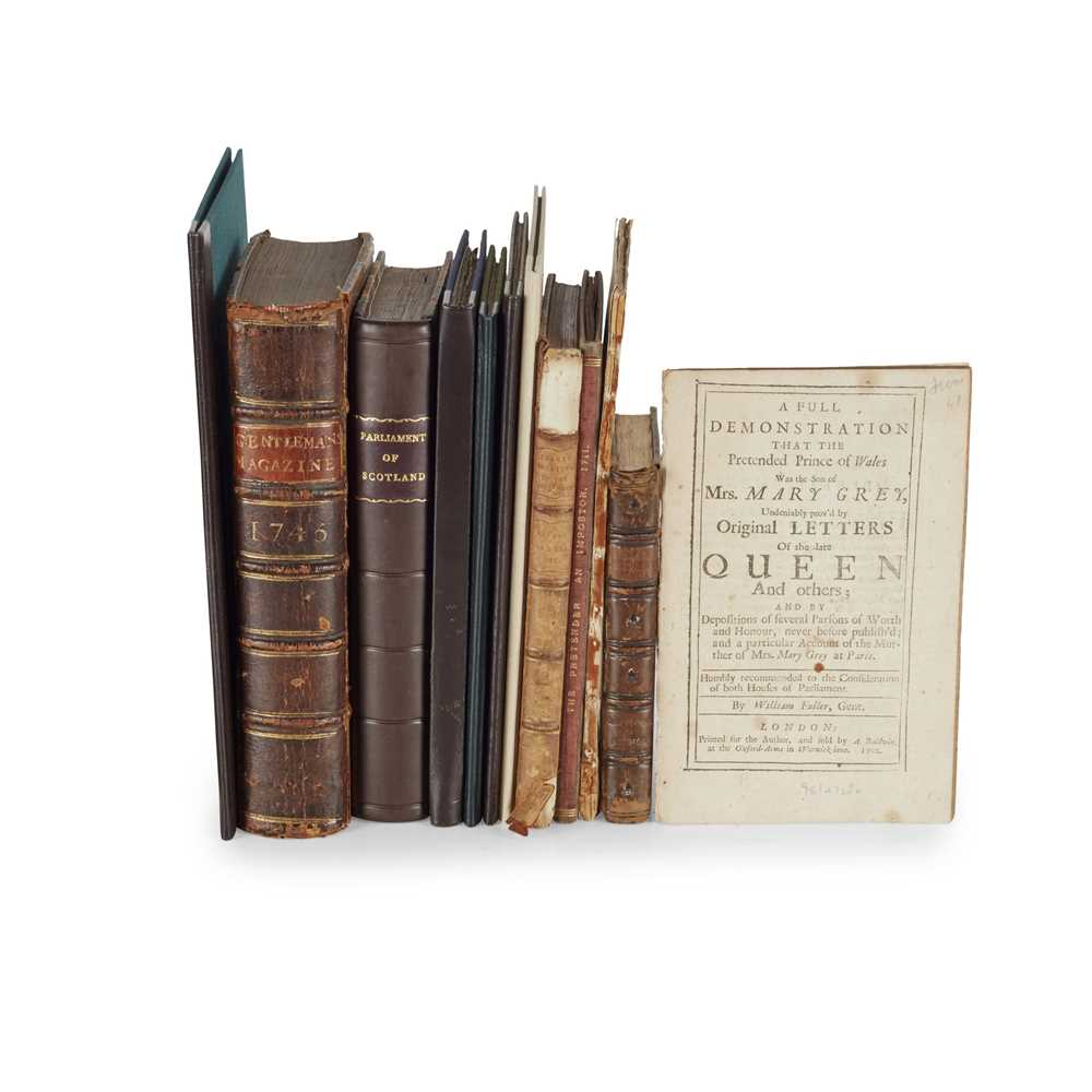 Scottish History, 11 Books including [Skene, Alexander] Memorialls for the Government of the