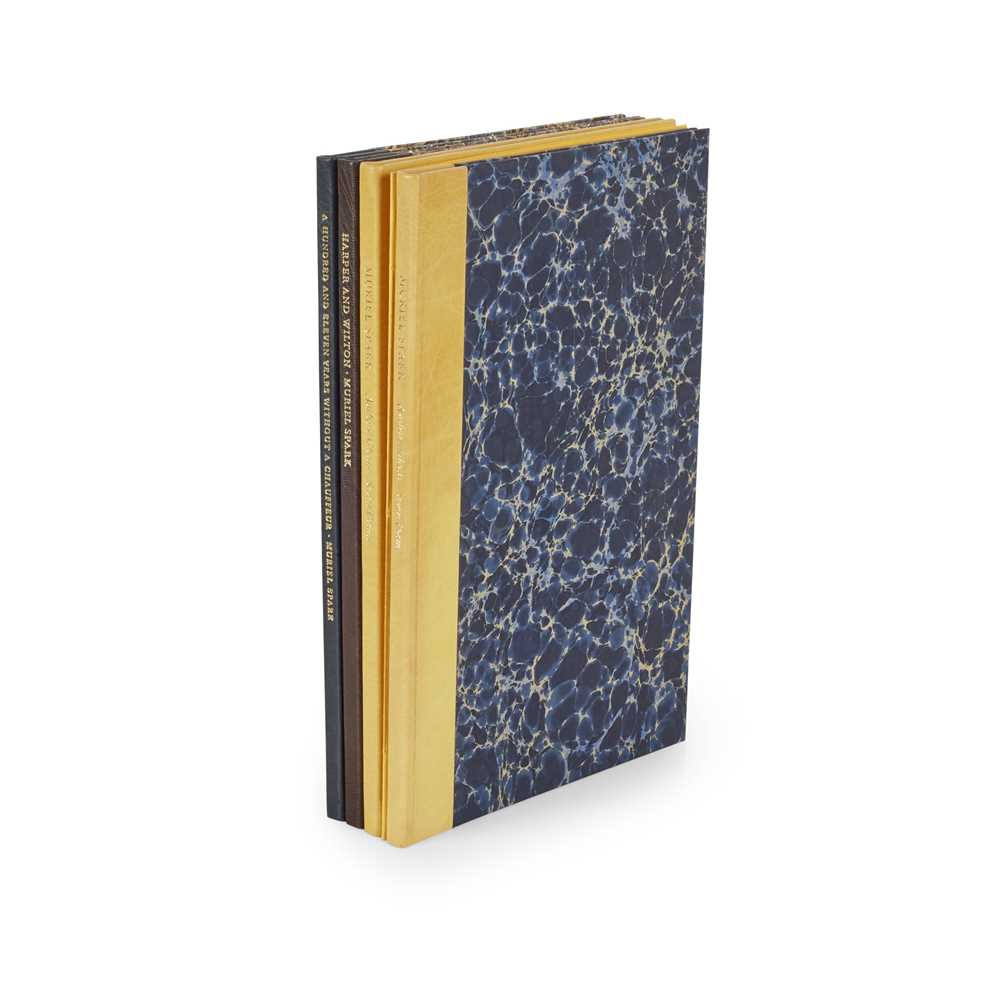 Spark, Muriel Five private press editions Authors' Ghosts, Seven Poems. Rees & O'Neill, 2004. 8vo,