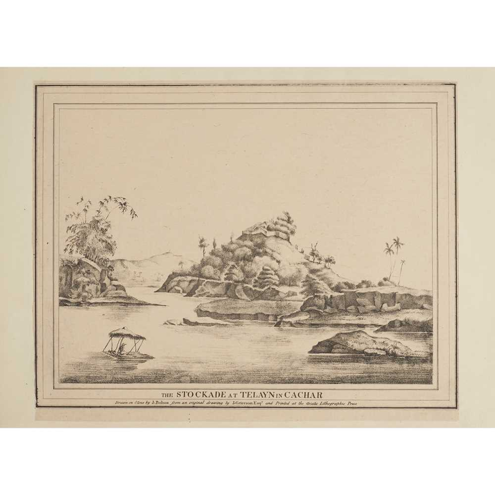 Grierson, J. Twelve Select Views of the Seat of War Calcutta: Asiatic Lithographic Press, 1825. - Image 3 of 3