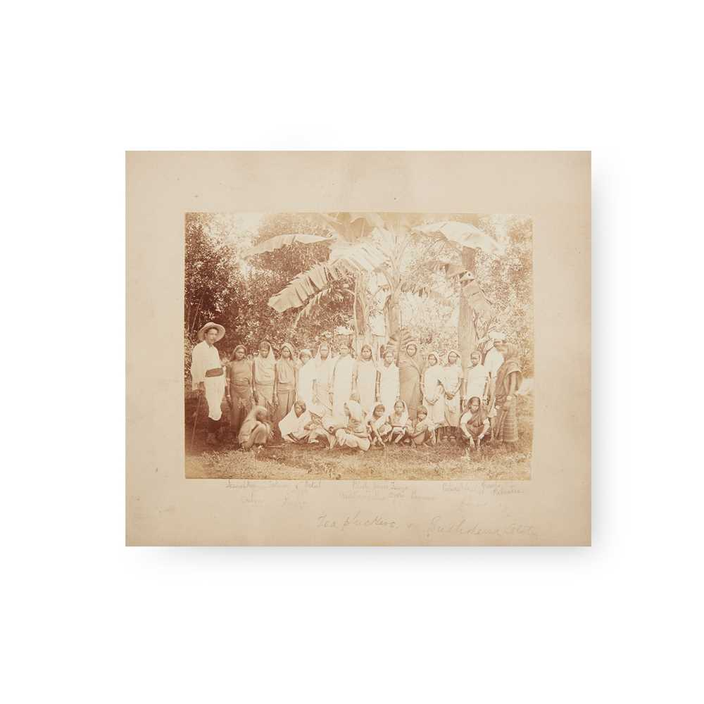 Ceylon [Sri Lanka] 19th century album of sketches and photographs 31 sketches of various sizes,