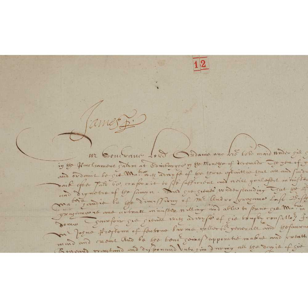 Graham, George, Bishop of Orkney Correspondence and Papers written during Graham's occupation of the - Image 2 of 3
