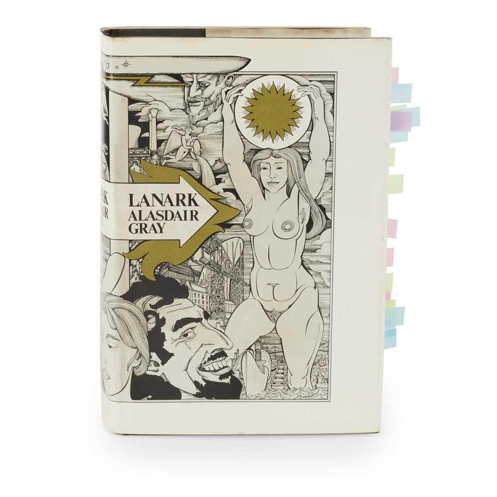 Gray, Alasdair Lanark Edinburgh: Canongate Publishing, 1981. First edition, presentation copy to - Image 2 of 2