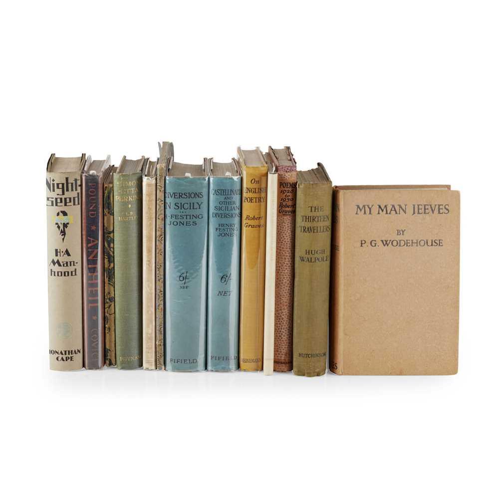 1920s Literature 13 volumes, including Muir, Edwin. First Poems. Hogarth Press, 1925, original