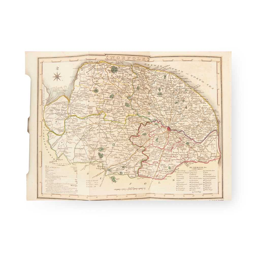 [Chambers, John] A General History of the County of Norfolk Norwich: John Stacy, 1829. 2 volumes,