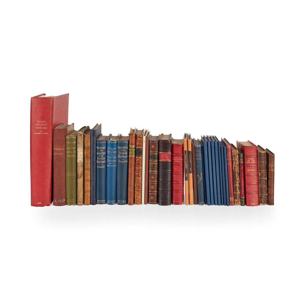 Jacobite and Emigration 33 volumes, including [Volunteer] A Journey through Part of England and