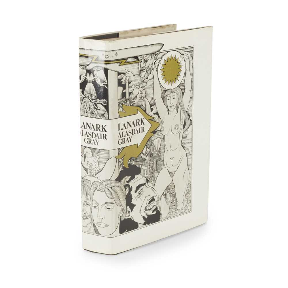 Gray, Alasdair Lanark Edinburgh: Canongate Publishing, 1981. First edition, presentation copy to