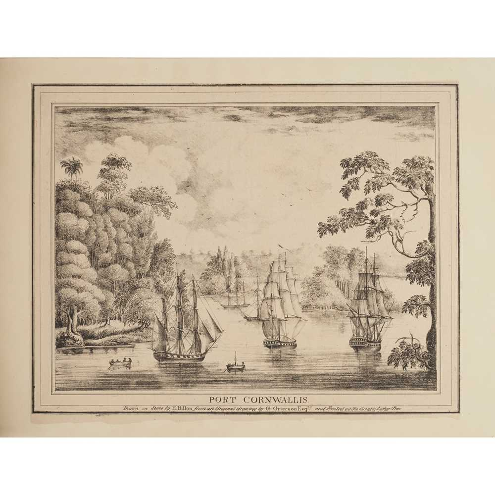 Grierson, J. Twelve Select Views of the Seat of War Calcutta: Asiatic Lithographic Press, 1825. - Image 2 of 3
