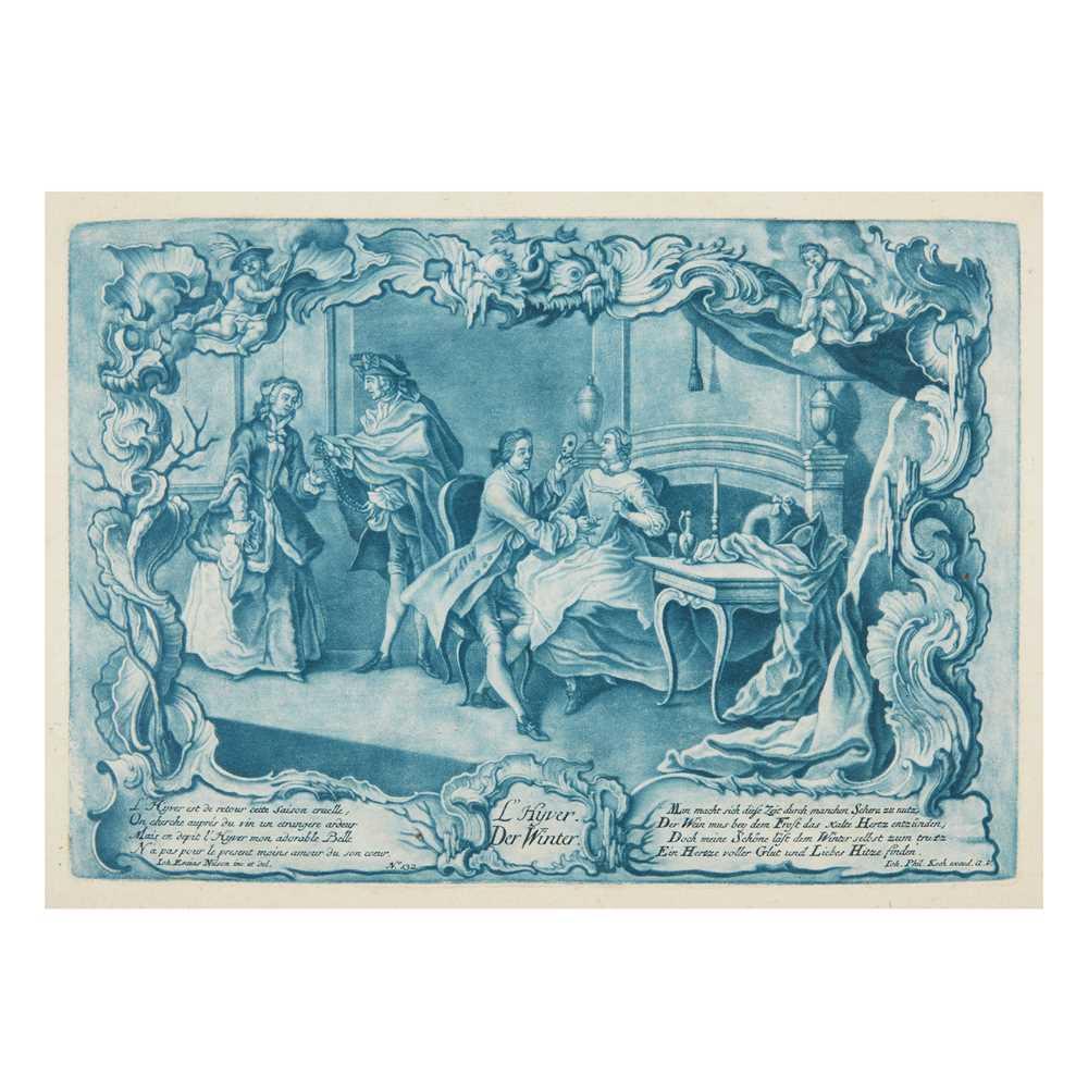 Nilson, Johann Esaias (1721-1788) The Seasons [Four Seasons:] Le Printemps/Der Frühling; L'Eté/Der