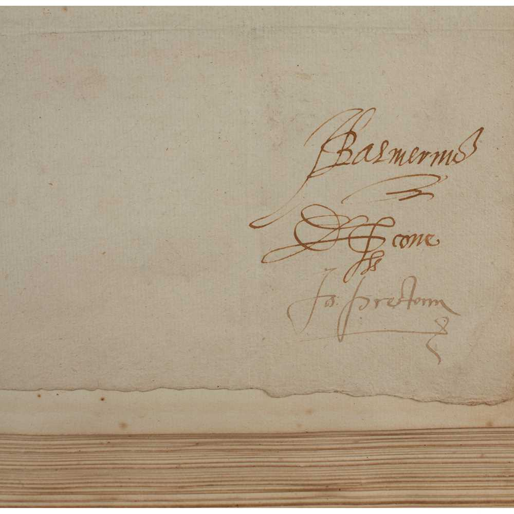 Graham, George, Bishop of Orkney Correspondence and Papers written during Graham's occupation of the - Image 3 of 3