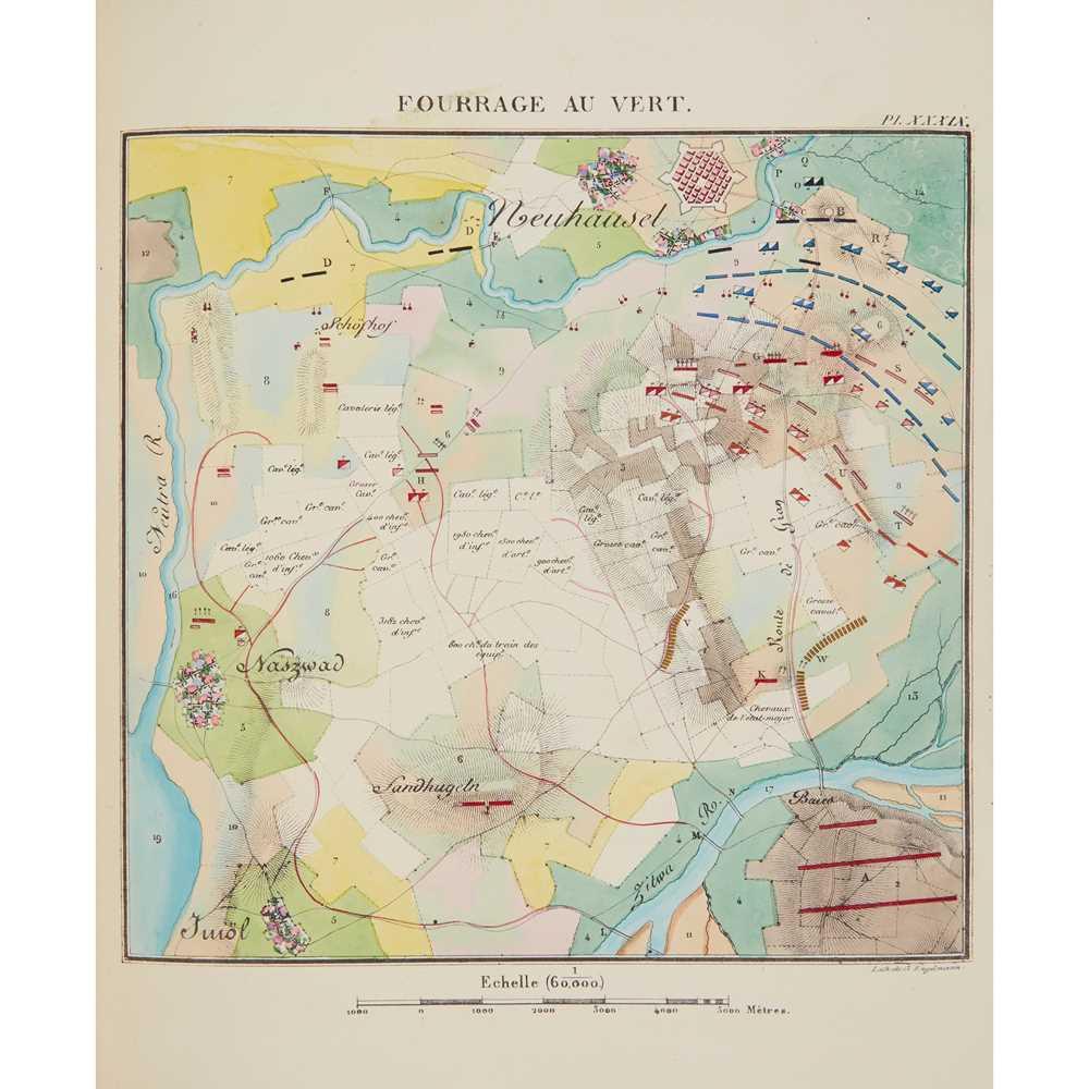 Jomini, Antoine, General Atlas pour l'histoire critique et militaire des Guerres de la Révolution [ - Image 2 of 2