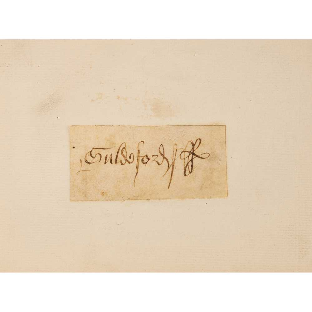 Tudor Documents Two documents, dated 1557 and 1597 Indenture on vellum dating from the reign of