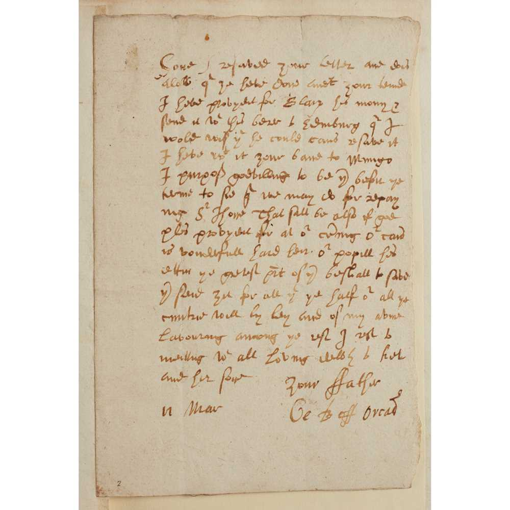 Graham, George, Bishop of Orkney Correspondence and Papers written during Graham's occupation of the
