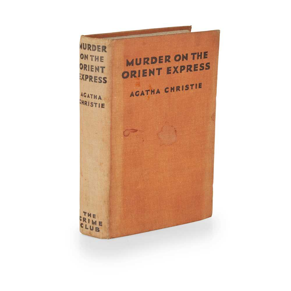 Christie, Agatha Murder on the Orient Express Published for The Crime Club Ltd. by W. Collins